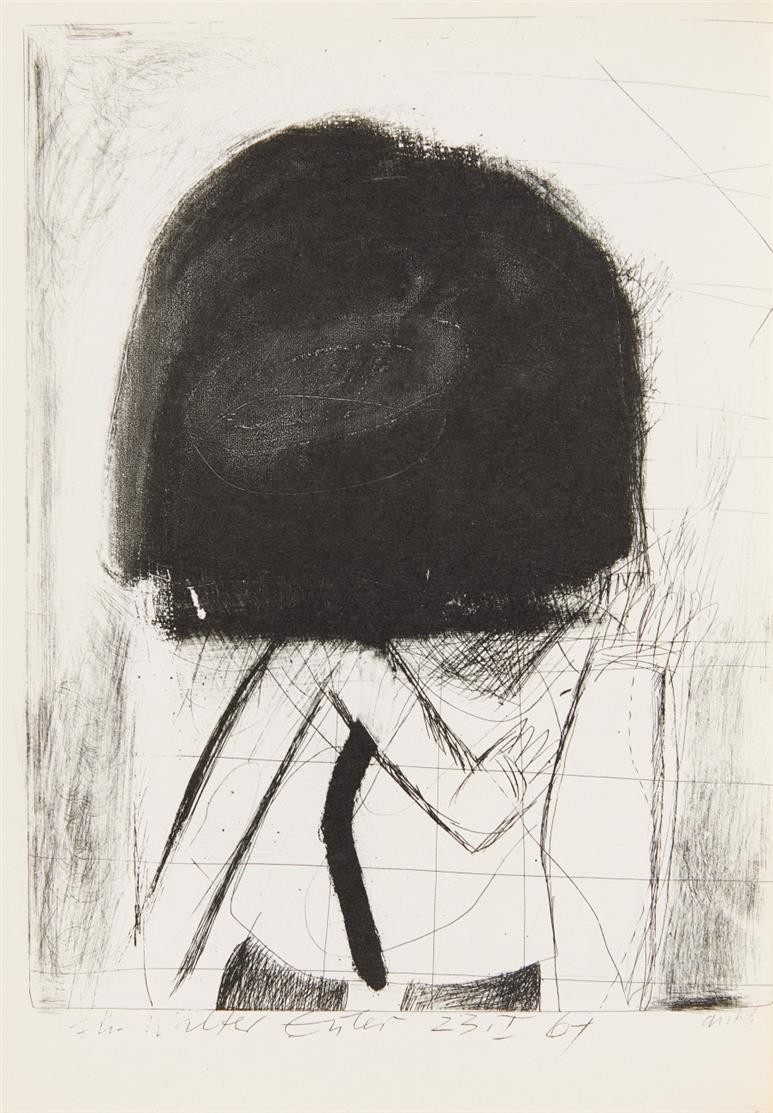 H. Antes, Parken verboten. Vorw. v. A. Fabri. Köln 1962. Ex. 45/ 185.
