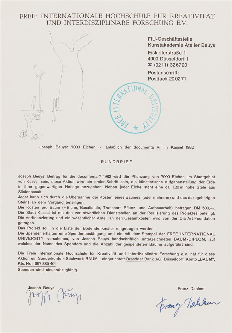 Joseph Beuys Granolithographie 1975                 02