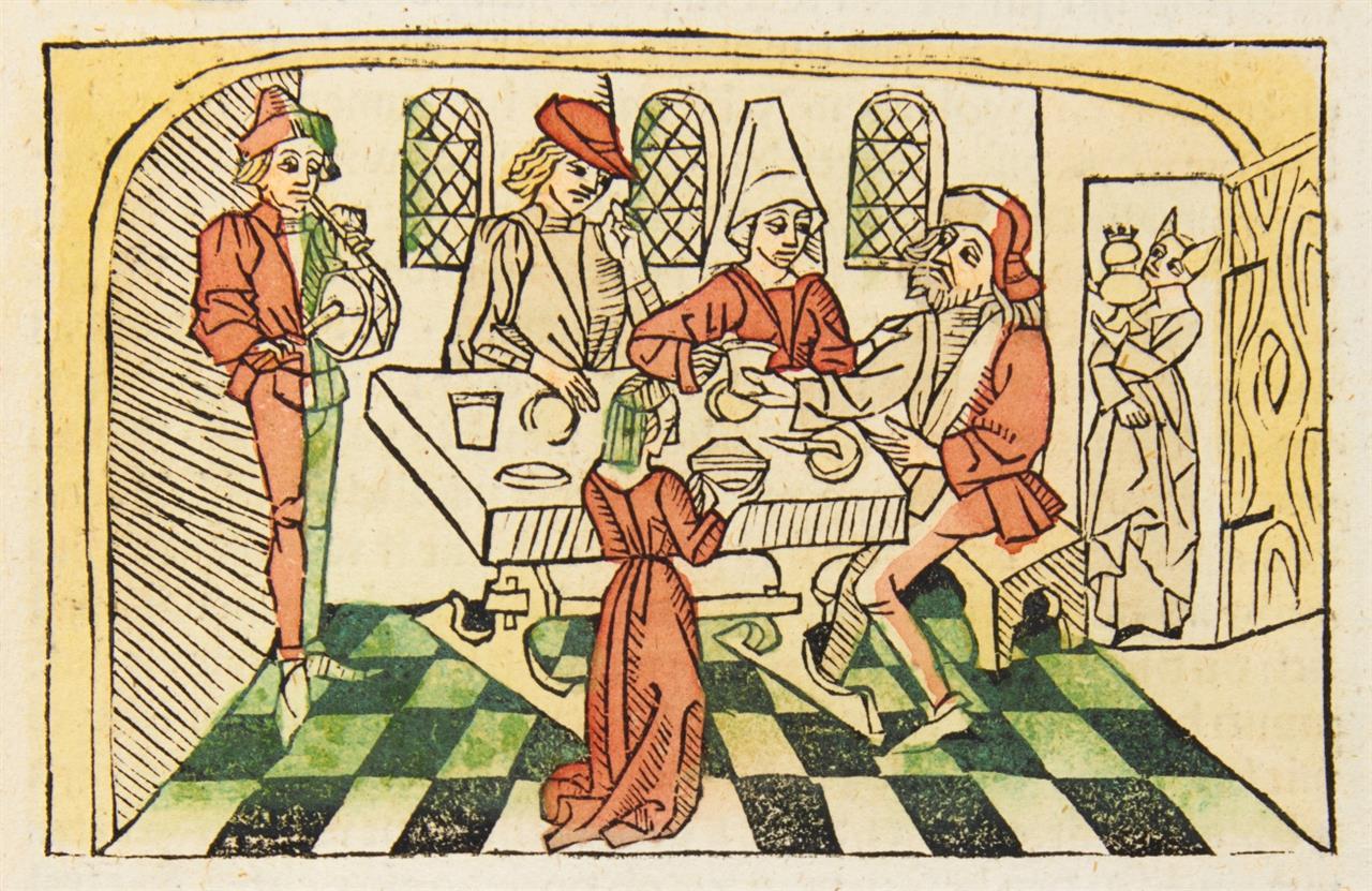 (Pseudo-) Hieronymus, Leben der heiligen Altväter. Straßburg, Drucker des 'Entkrist', nicht nach 1482.