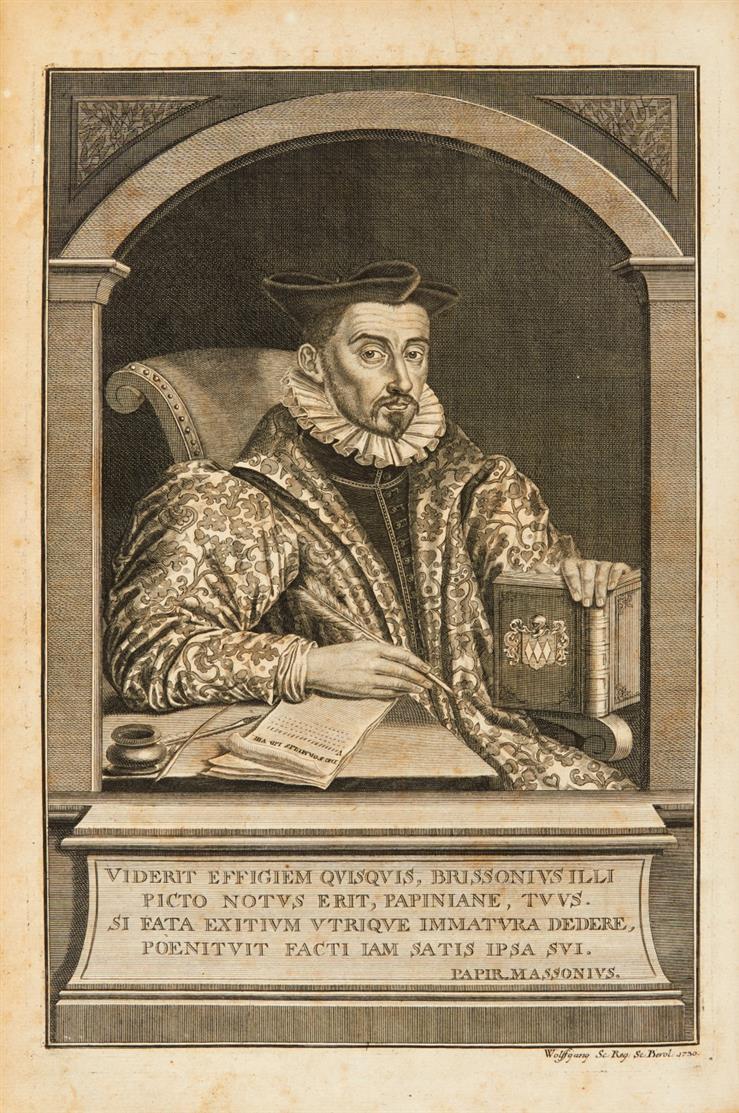 B. Brisson, De formulis et solennibus populi Romani. Halle u. Lpz. 1731.
