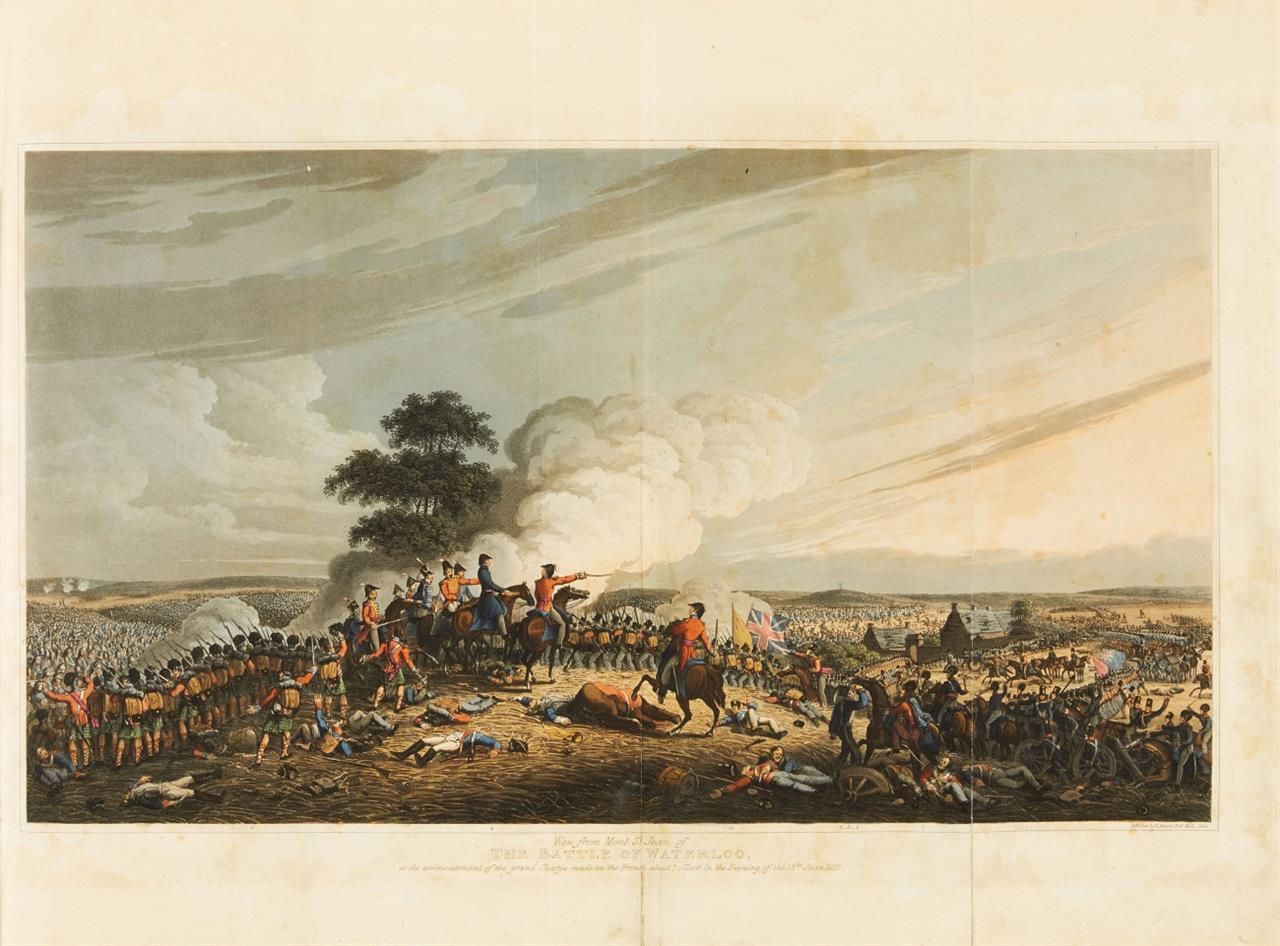 R. Bowyer, The campaign of Waterloo. London 1816.