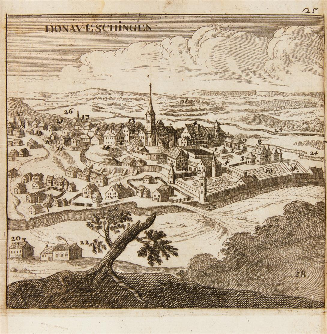 S. v. Birken, L'origine del Danubio. Tl. 1. Venedig 1684.