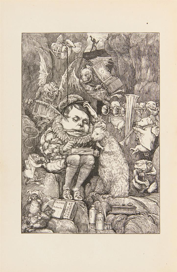 Lewis Carroll, The hunting of the snark. London 1876.