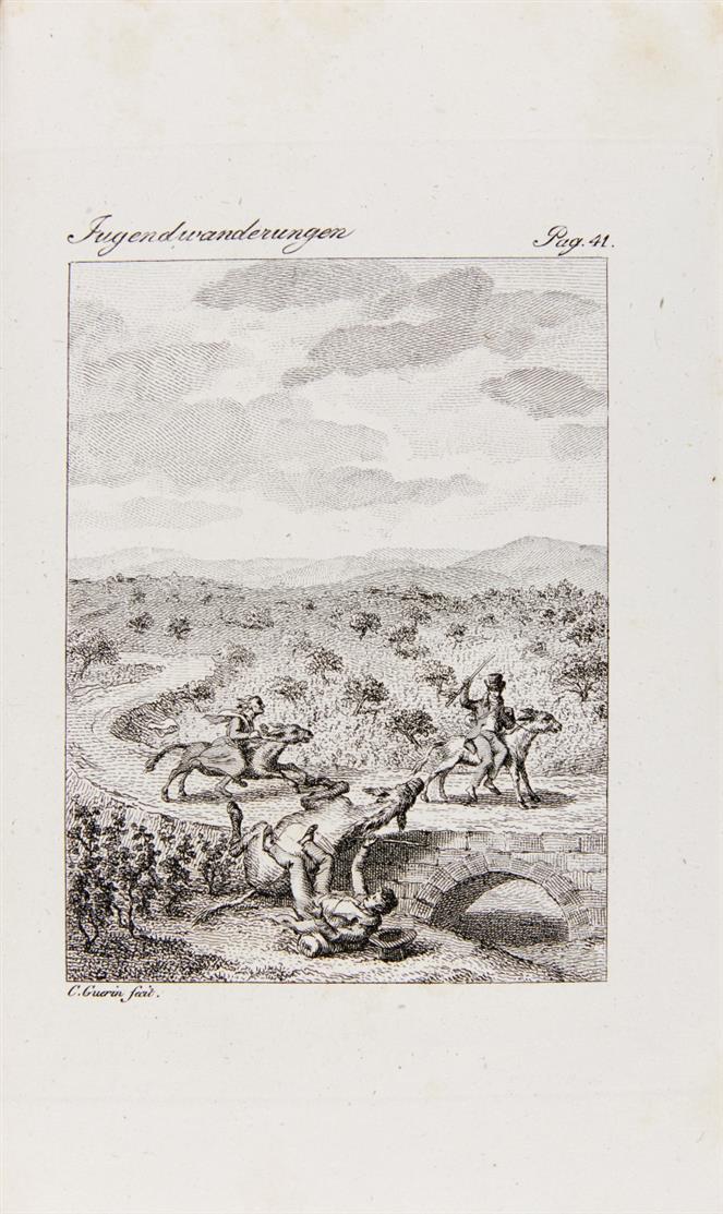 H. L. H. Fürst v. Pückler-Muskau, Jugend-Wanderungen. Stgt 1835.