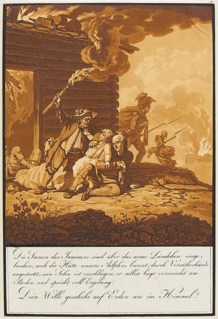 M. Usteri, Das Vater Unser eines Unterwaldners. Freiburg 1814.