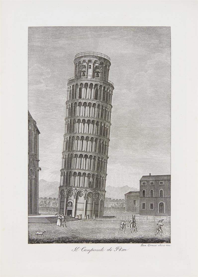 Views of the cyti and environs or Rome. 1854-55. / Rappresentazione ... di Pisa. 1854.