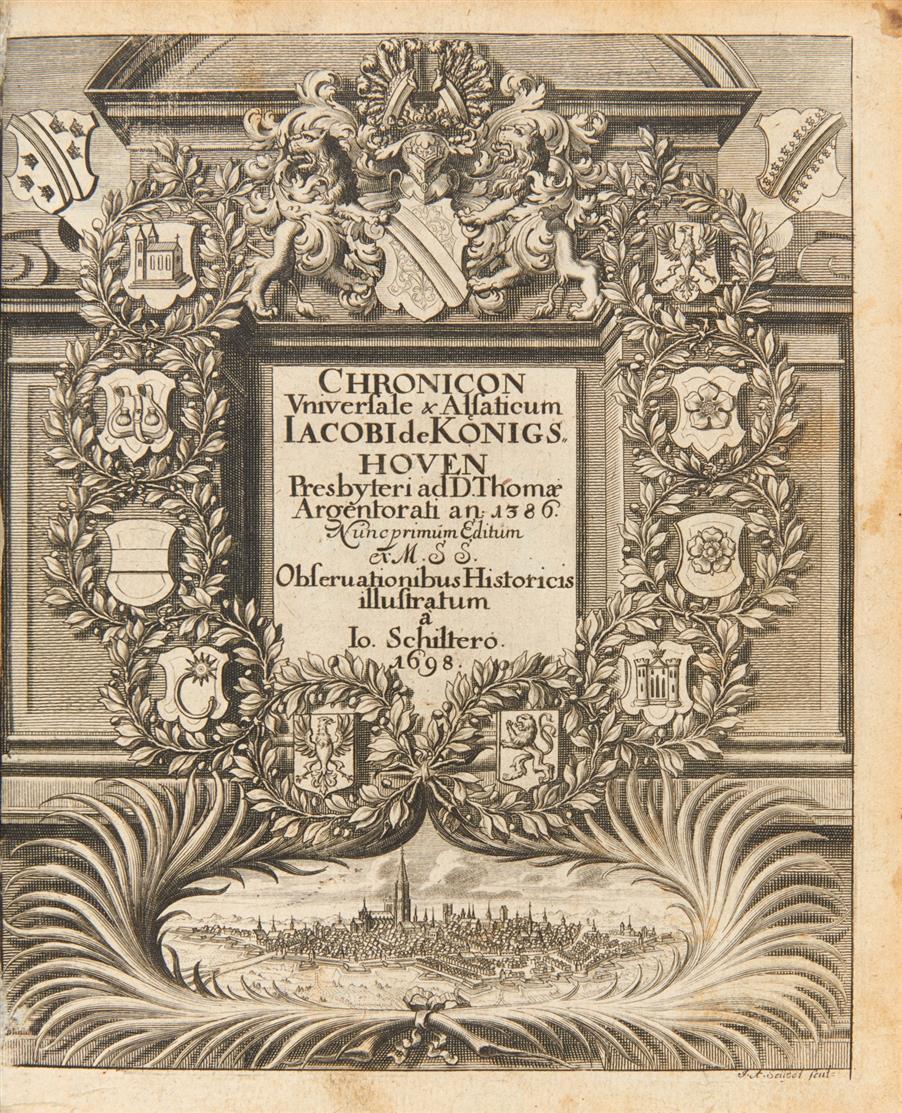 J. Twinger v. Königshofen, Elsässische und Straßburgische Chronik. Straßburg 1698.