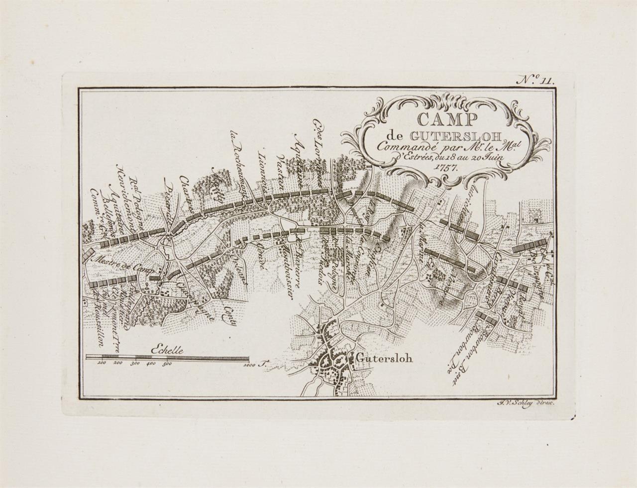 L. Du Bois, Camps topographiques. Den Haag 1760.