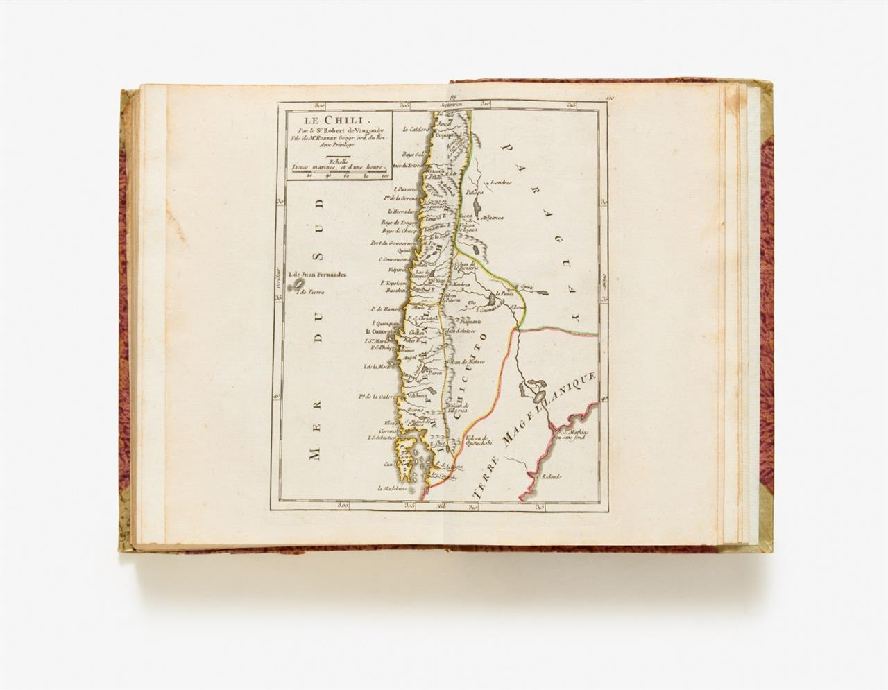 R. de Vaugondy, Atlas portatif, universel. Paris 1799.