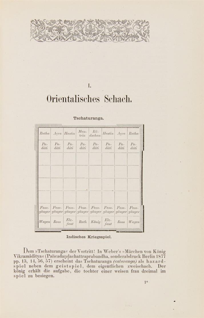 A. van der Linde, Quellenstudien zur Geschichte des Schachspiels. Berlin 1881.