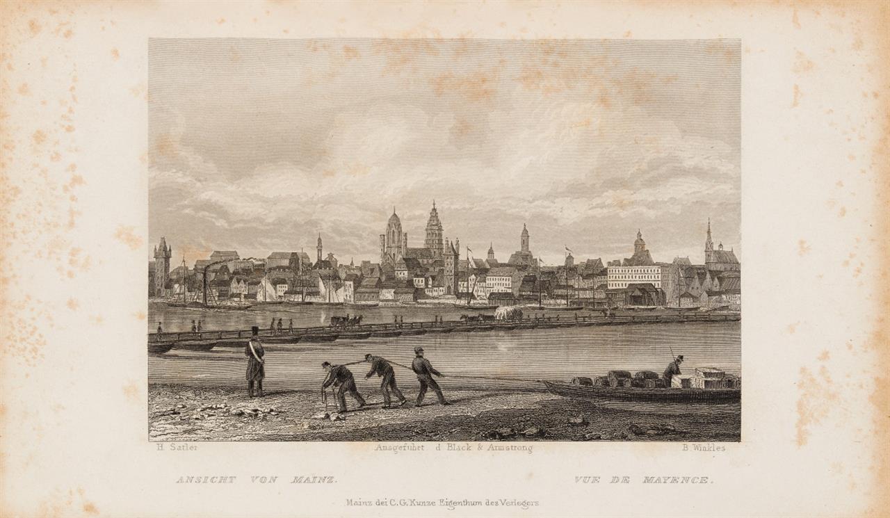 A. v. Stolterfoth, Album du Rhin. Mainz, um 1840.