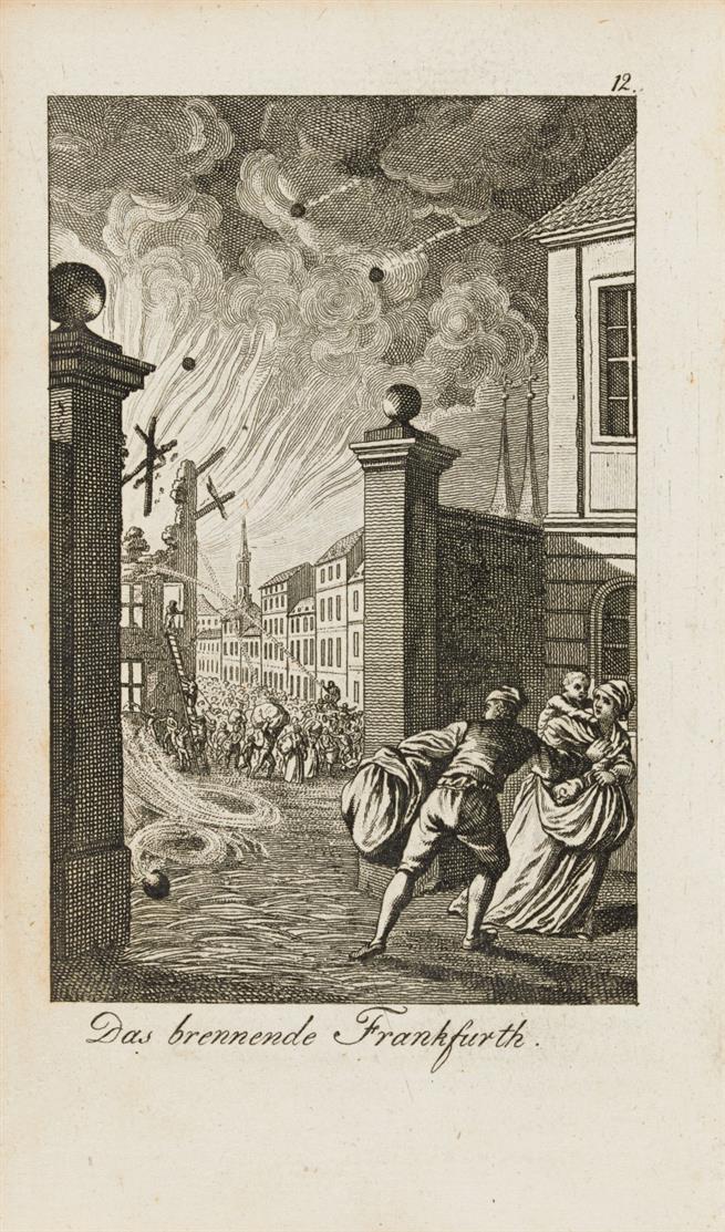 Revolutions-Almanach. 11 Bde (v. 12), Göttingen 1793-1803.