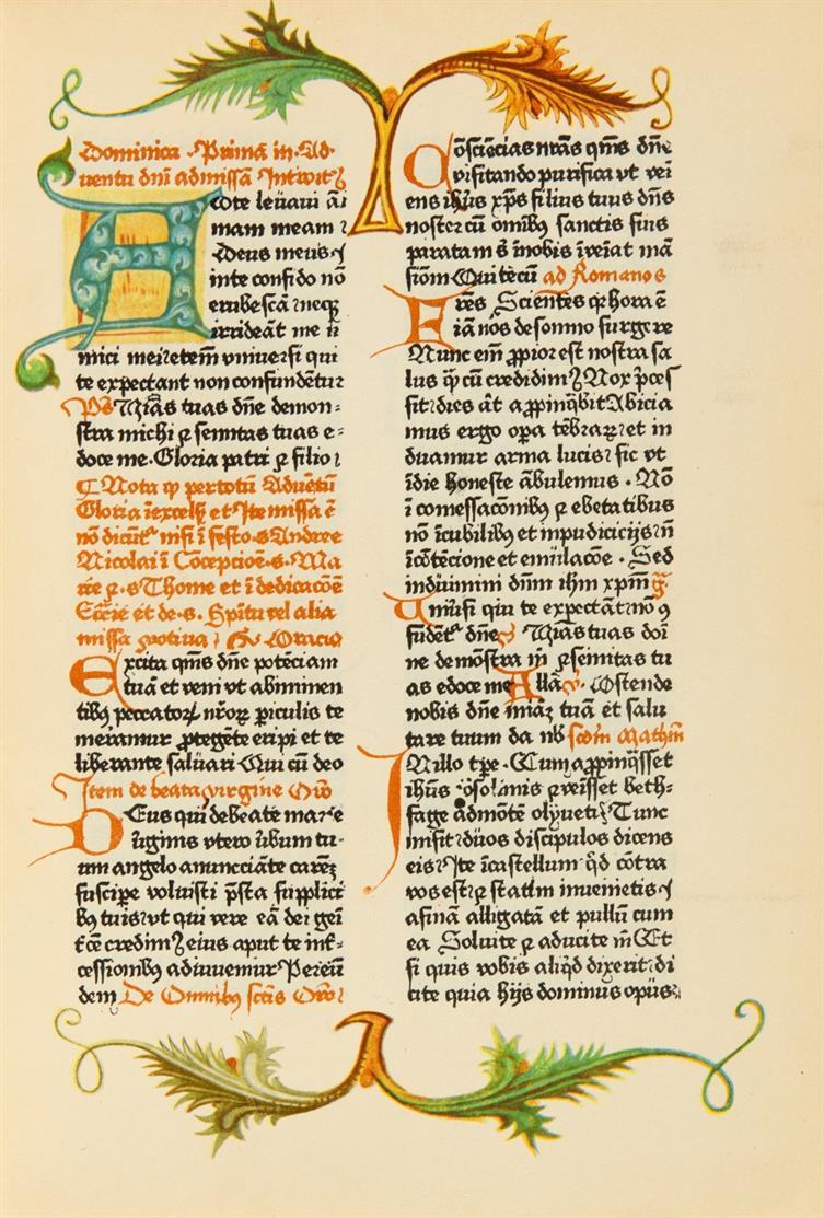 Faksimile - Missale Pragense z roku 1479. Prag 1931.