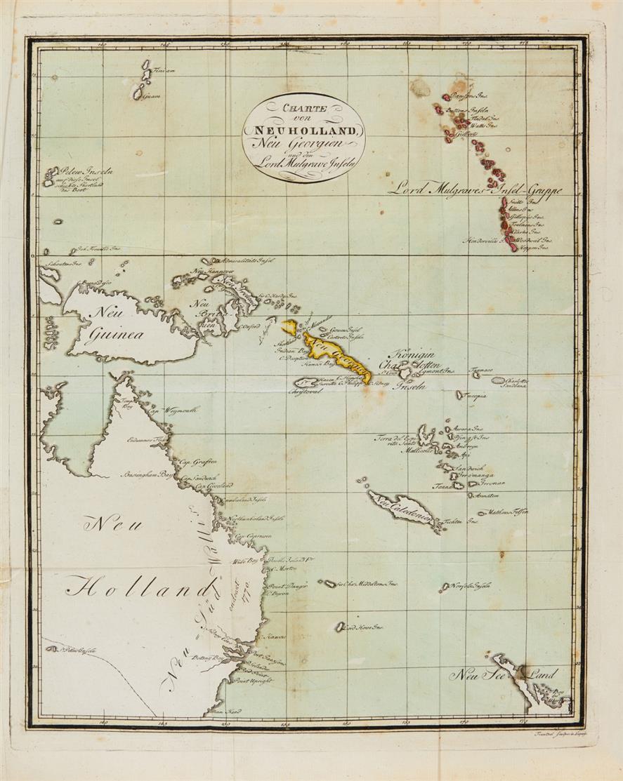 A. Phillip, Reise nach der Botany Bay. Hamburg 1791.
