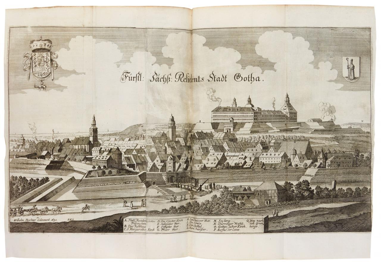 Merian.- M. Zeiller, Topographia Superioris Saxoniae, Thuringiae ... Ffm 1650 (d. i. 1690).