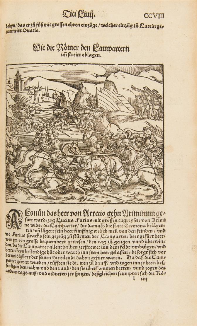 T. Livius, Römische Historien. Mainz 1541