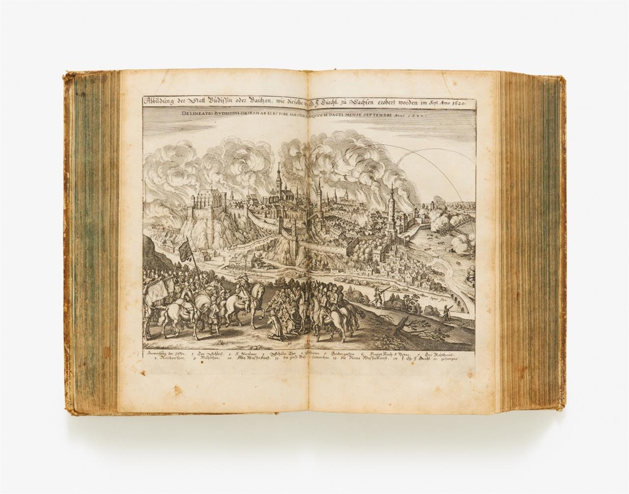 Merian. - J. P. Abelinus, Theatrum Europaeum. Bd. I. (2. Aufl.). Ffm 1643.