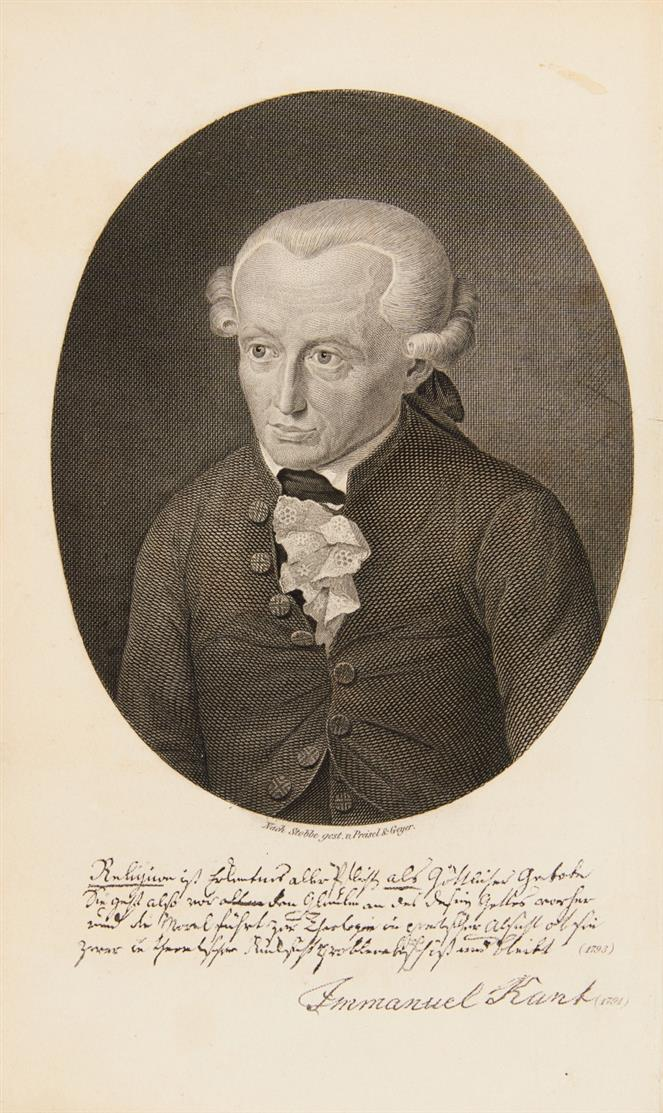 I. Kant. Sämmtliche Werke. 12 Bde in 7. 1838-42.