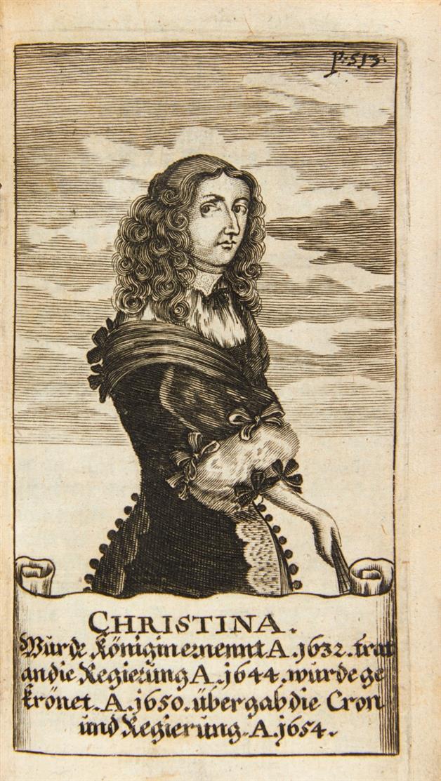 J.C. Beer, Regierende Könige in Schweden. Nbg. 1673.