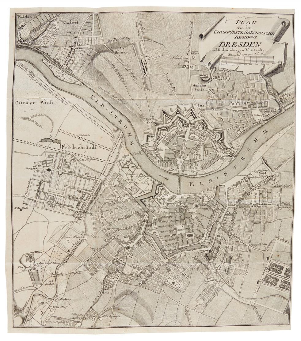 J. C. Hasche, Umständliche Beschreibung Dresdens. Band I. 1781.