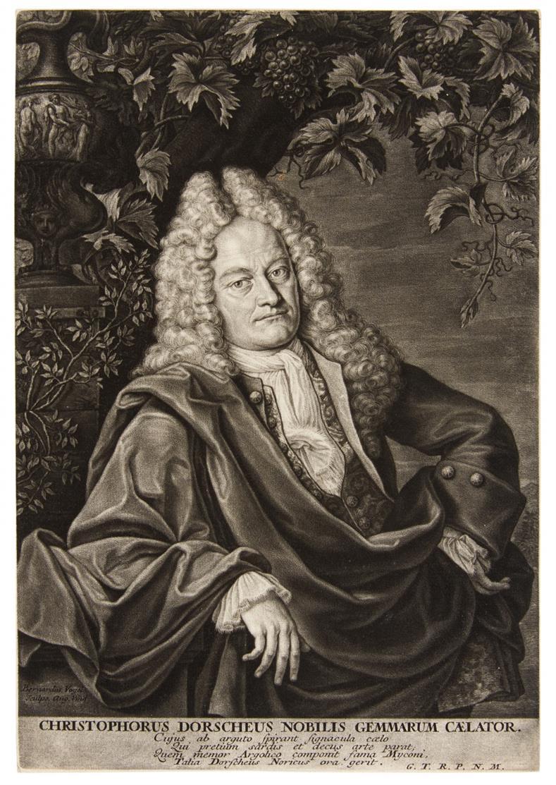 Bernhard Vogel. Christoph Dorsch. Schabkunst.