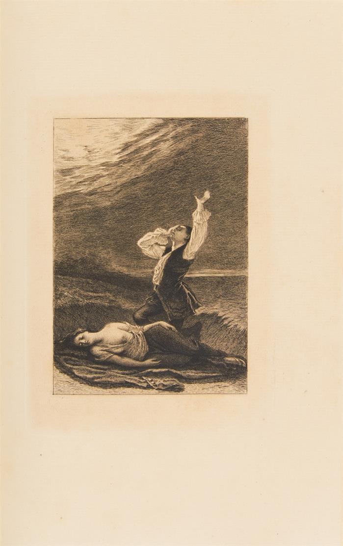 Prévost d'Exiles, Histoire de Manon Lescaut ... Paris 1875. - Eines von 200 Ex.