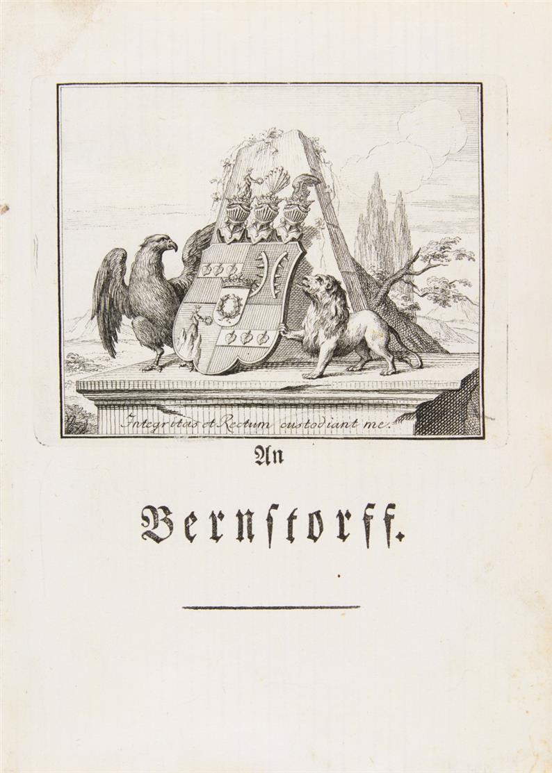 F. G. Klopstock, Oden. Hamburg 1771.
