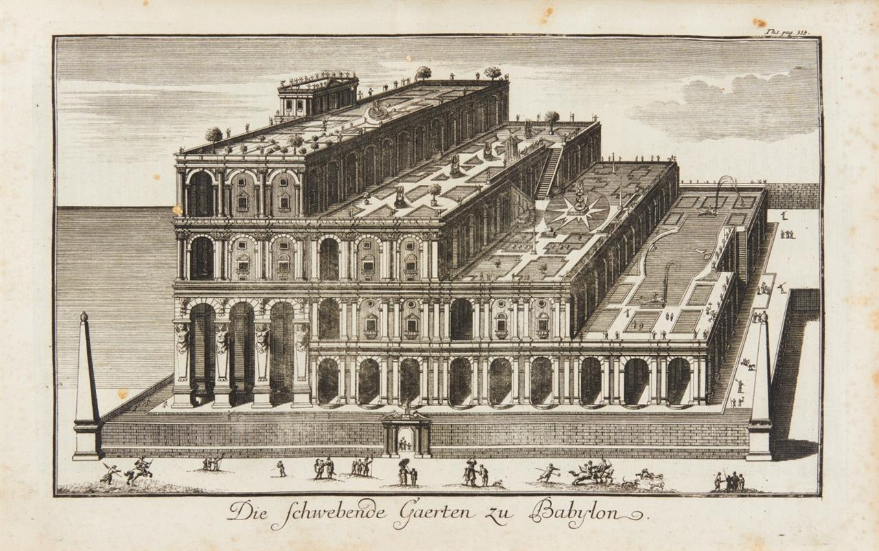 Flavius Josephus, Sämtliche Werke. 2 Tle. in 1 Bd. Tübingen 1736.