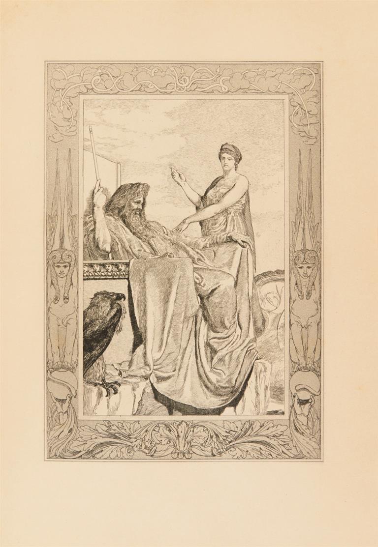 L. Apulejus / M. Klinger, Amor und Psyche. München 1880-81.
