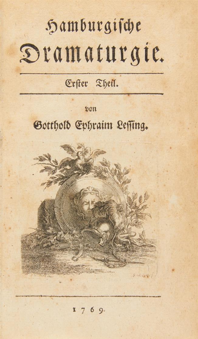 G. E. Lessing, Hamburgische Dramaturgie. 2 Bde. Lpz 1769.