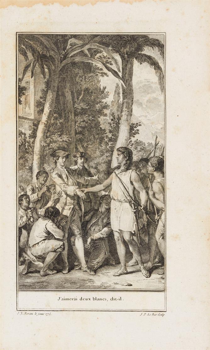 J. F. de Saint-Lambert, Les saisons. 7. Ausg. Amsterdam 1775.