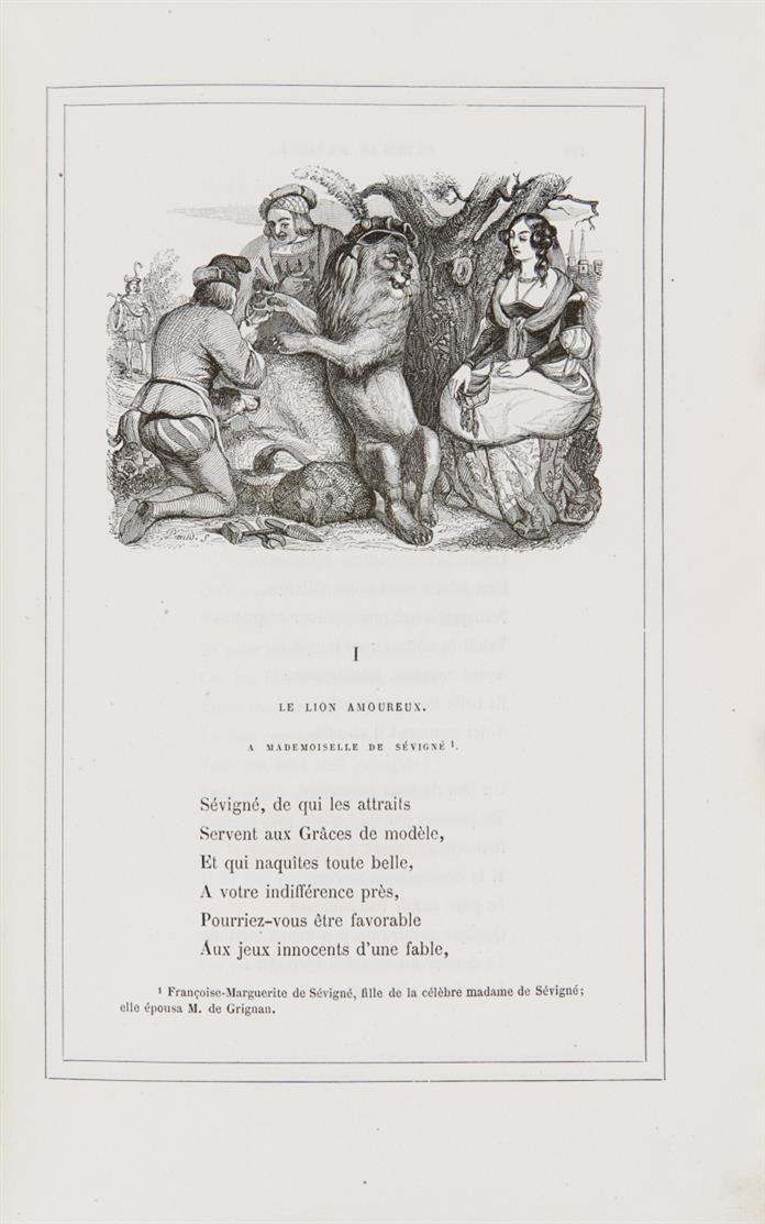 J. J. Grandville / La Fontaine, Fables. Paris o. J. (ca. 1868).