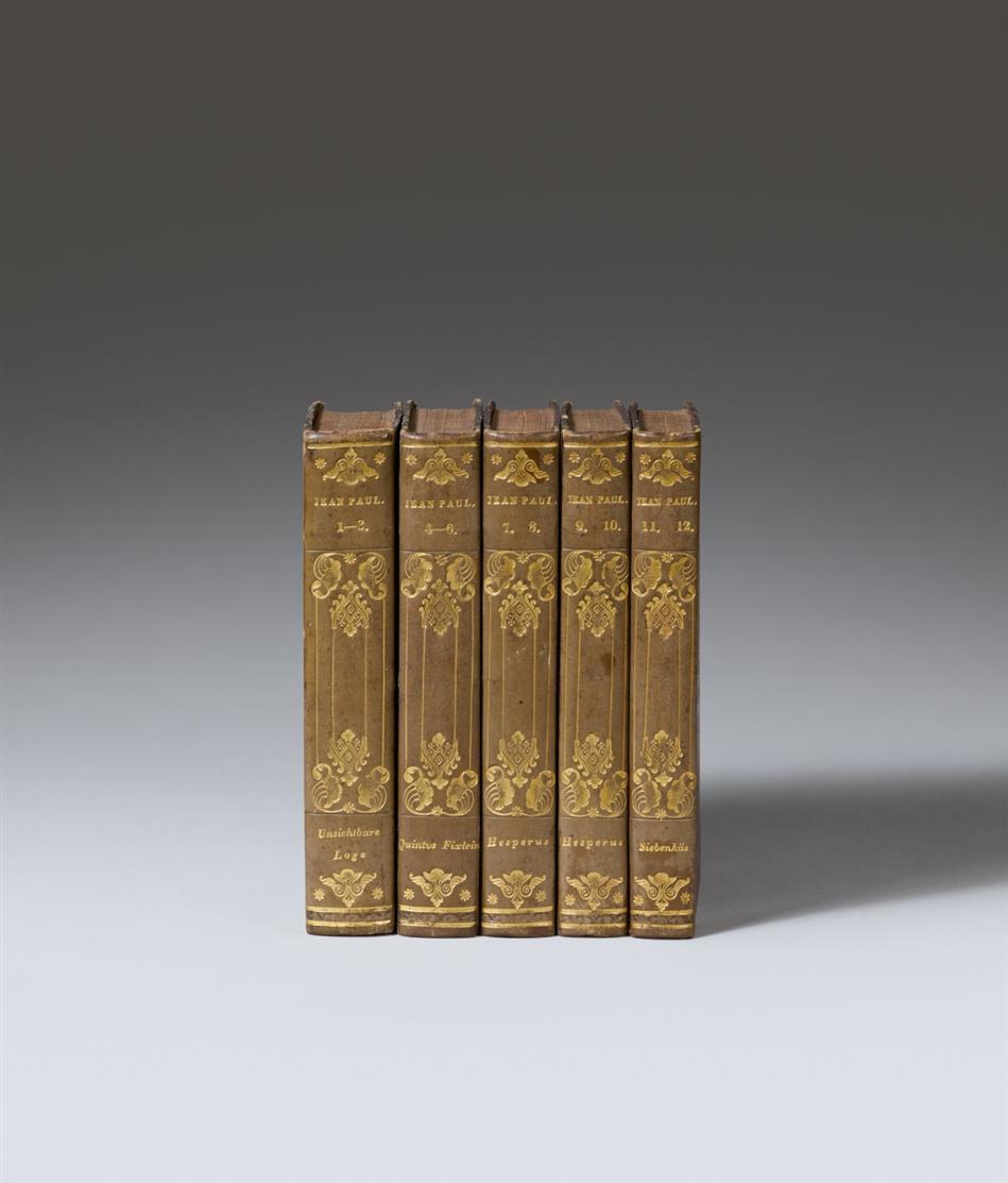 Jean Paul, Sämmtliche Werke. 65 Bde. (= 13 Lief.)  in 27 Bdn. Bln 1826-1838. - EGesA.