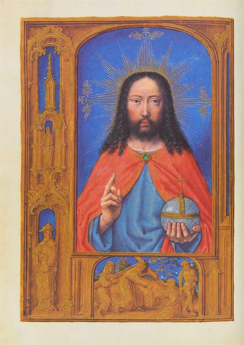 Das Croy-Gebetbuch. Faksimile + Kommentar in 2 Bdn. Luzern 1993. - Ex. 440/980.