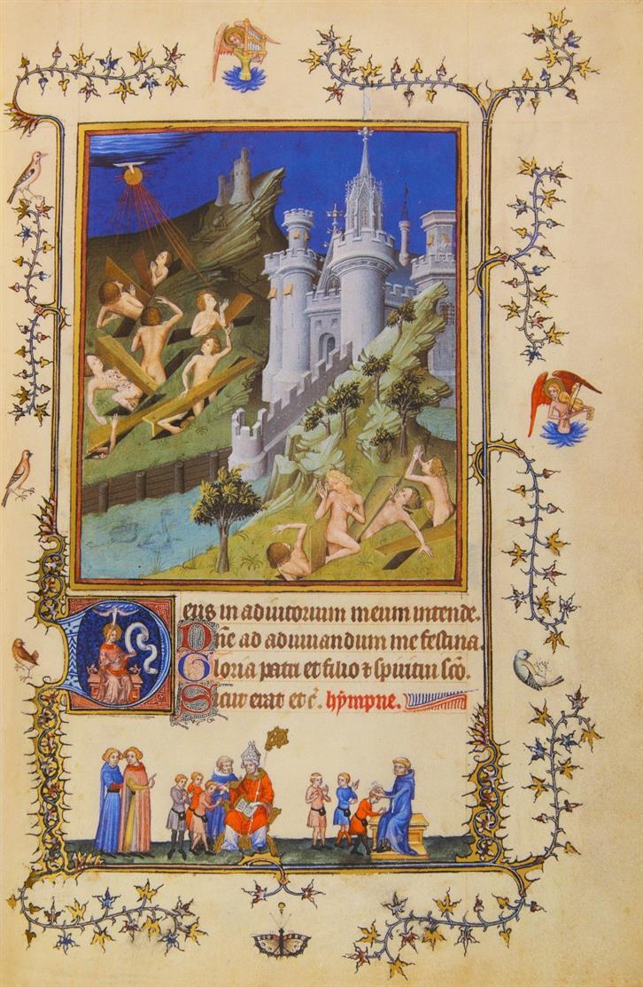 Les très belles heures de Notre-Dame du Duc de Berry. Faks. + Komm.. 3 Bde. Luzern 1992.