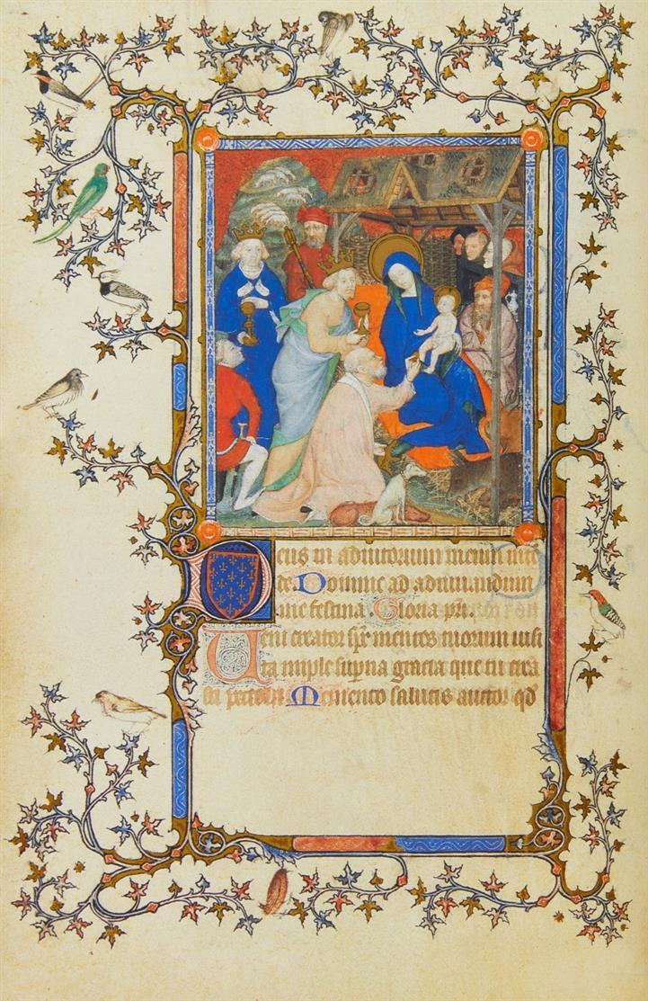 Les petites heures du Duc de Berry. Faksimile + Komm.. 2 Bde. Luzern 1988. - Ex. 89/ 900.