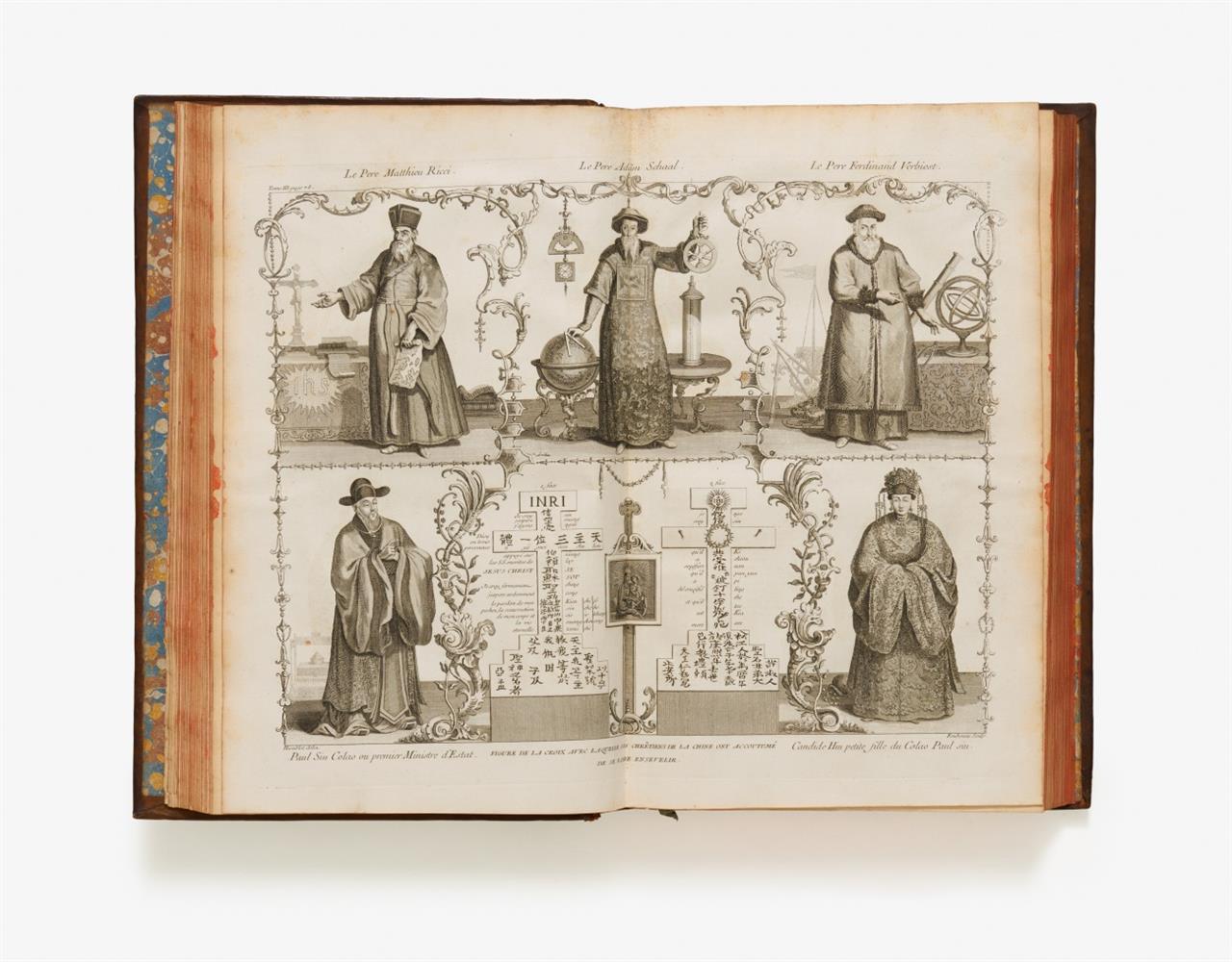 J. B. Du Halde, Description géographique … de la Chine ... 4 Bde. Paris 1735.