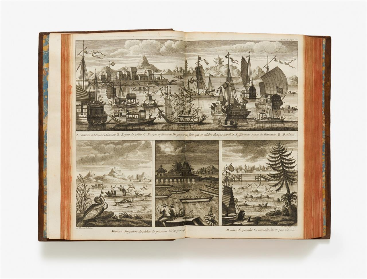 J. B. Du Halde, Description géographique … de la Chine ... 4 Bde. Paris 1735.