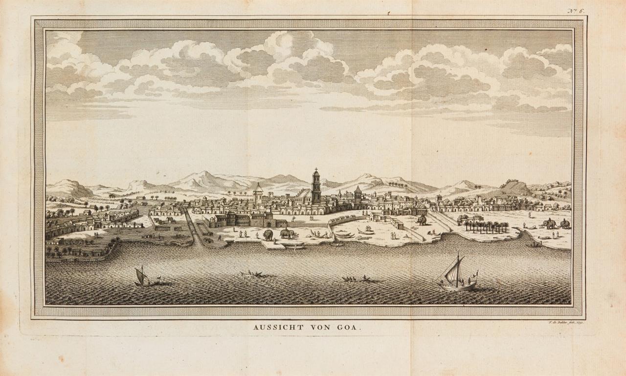 J. J. Schwabe, Reisebeschreibungen. Bd. VIII. Lpz. 1751.