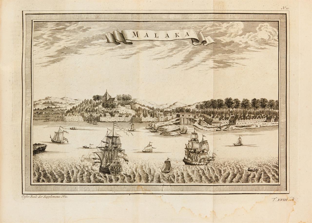 J. J. Schwabe, Reisebeschreibungen. Bd. XVIII. Lpz. 1764.