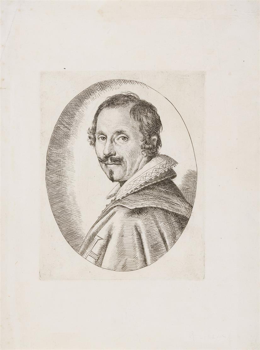 Ottavio Leoni. Porträt von Giovanni Baglioni. Radierung. B. 8.