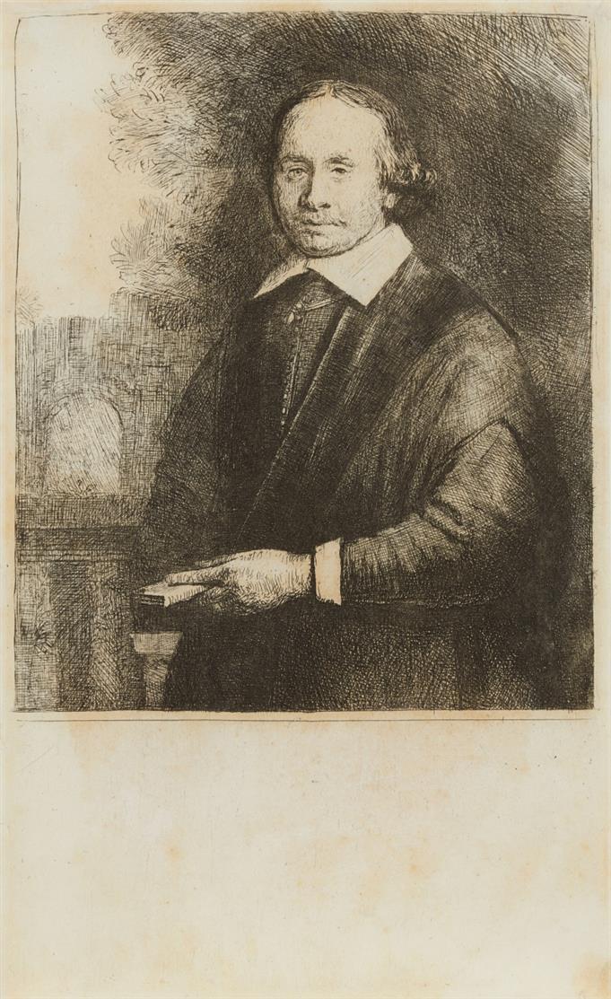 Rembrandt. Jan Antonides van der Linden. 1665. Radierung. NH 314 VII; B. 264.