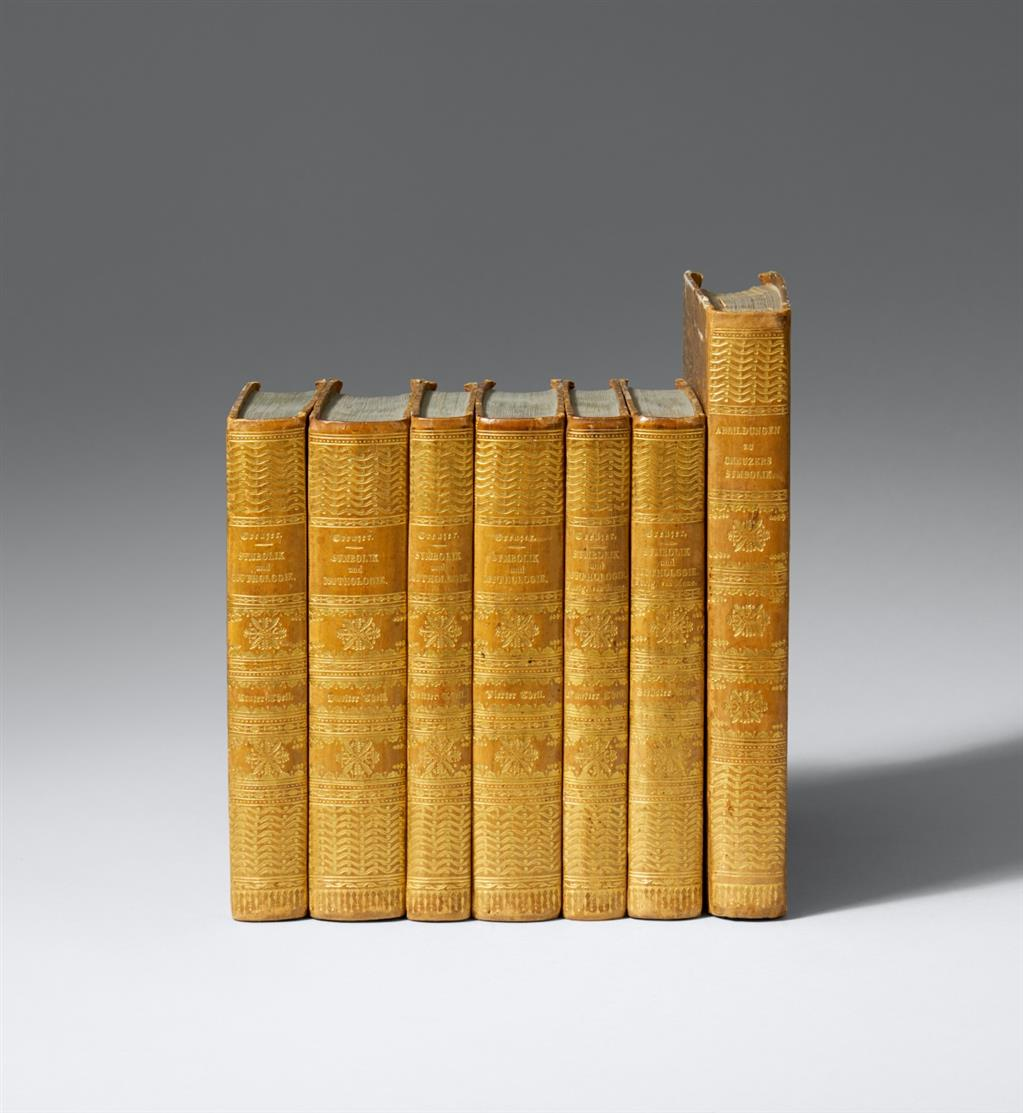 F. Creuzer, Symbolik und Mythologie der alten Völker. 6 Bde. + Atlas in 7 Bden. 1819-23