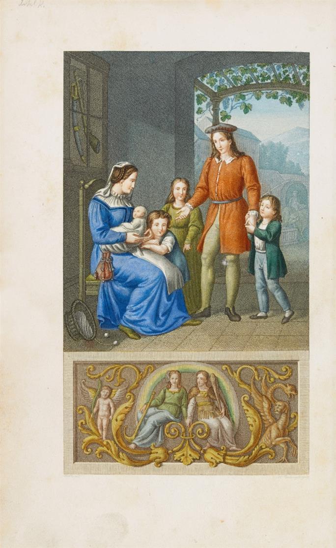 J. W. v. Goethe, Hermann und Dorothea. Neue Ausgabe. Braunschweig 1822.