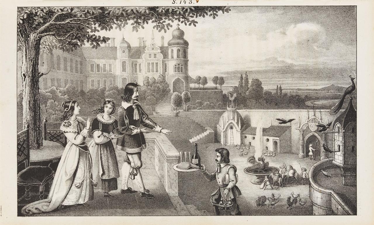 C. Brentano, Gockel Hinkel und  Gackeleia. Frankfurt a. M. 1838.
