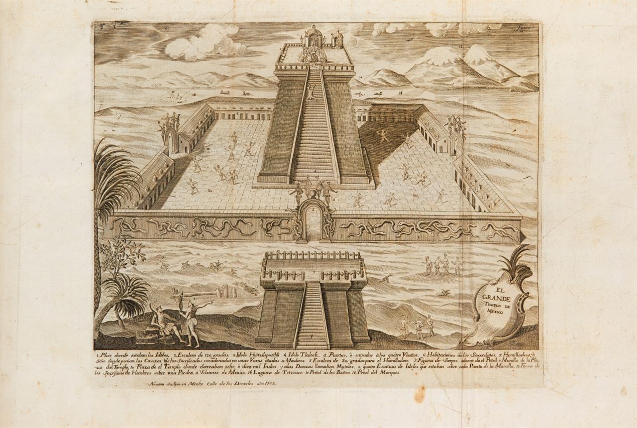 H. Cortés, Historia de Nueva-Espana. Mexico 1770.
