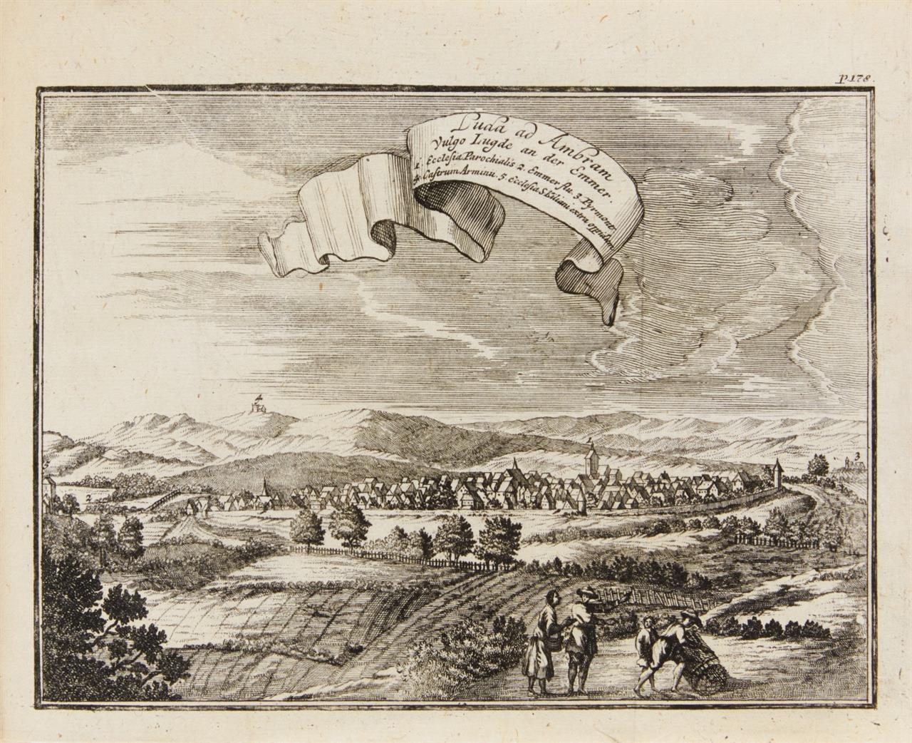 F. v. Fürstenberg, Monumenta Paderbornensia. 3. Aufl. 3 Tle. in 1 Bd. Ffm und Lpz 1713.