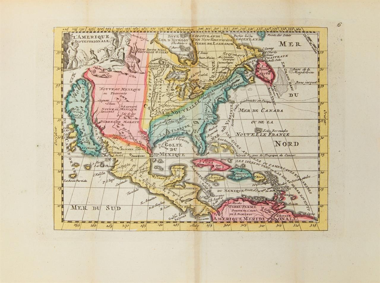 J. Ratelband, Geographisch Toneel, of uitgezochte kaarten. Amsterdam 1732.