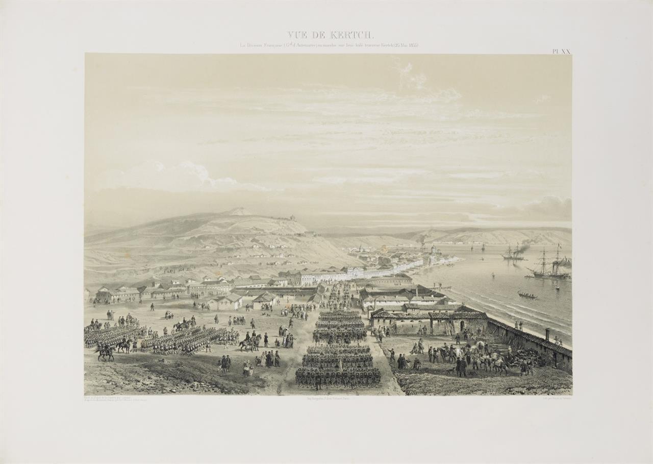 Atlas historique et topographique de la Guerre d'Orient en 1854, 1855 et 1856... Paris 1858.