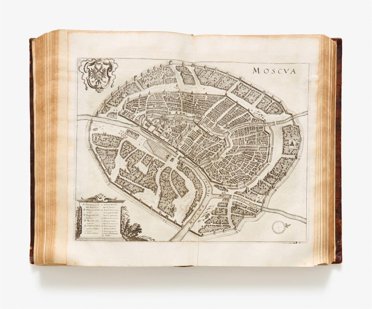 P. d 'Avity, Vermehrte Archontologia Cosmica ...Ffm. 1695.